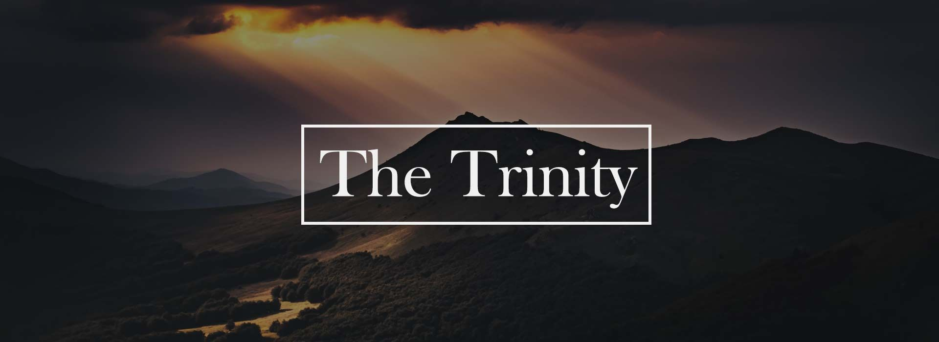 Most Holy and Blessed Trinity (30th May 2021)